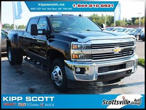 2015 Chevrolet Silverado 3500HD LTZ, Dually, Diesel, 1 Owner