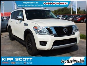 2017 Nissan Armada Platinum, 7 Pass, Like New, Low Km, 1 Owner