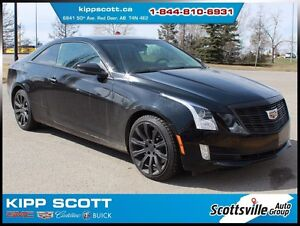 2015 Cadillac ATS Coupe Premium AWD, Leather, Nav, 1 Owner