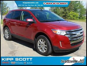 2013 Ford Edge SEL AWD, Leather, Sunroof, Nav, SYNC, Loaded