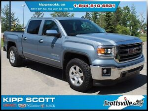 2015 GMC Sierra 1500 SLT, Leather, 6-Pass, 1 Owner, Clean!