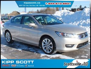 2014 Honda Accord Sedan Touring V6, Leather, Sunroof, Nav