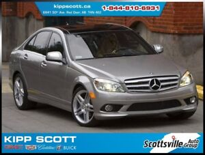 2009 Mercedes-Benz C-Class C230 4-MATIC AWD, Leather, Sunroof