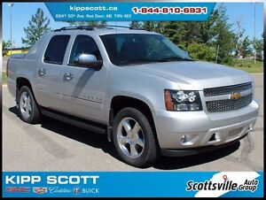 2012 Chevrolet Avalanche LTZ, Leather, Nav, DVD, Sunroof