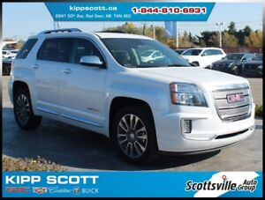 2016 GMC Terrain Denali, Sunroof, Nav, Loaded, 1 Owner