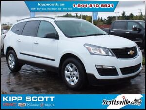 2016 Chevrolet Traverse LS AWD, 1 Owner, Cruise, 8 Passenger