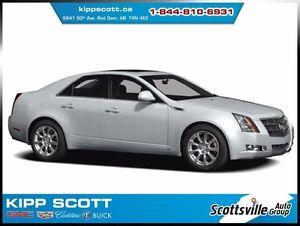 2010 Cadillac CTS 3.0L V6 RWD Sedan, Sunroof, Heated Leather