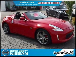 2016 Nissan 370Z Roadster Sport Touring, V6, Leather, Low KM