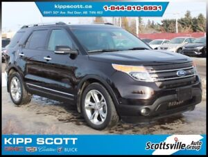 2013 Ford Explorer Limited, Sunroof, Nav, Leather, BLIS, SYNC