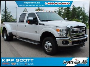 2015 Ford F-350 Lariat DRW, Leather, Nav, Sunroof, Loaded!