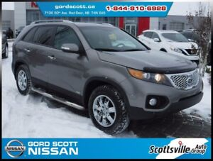 2012 Kia Sorento LX AWD, Leather, Cruise, A/C Bluetooth