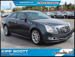 2012 Cadillac CTS 3.6 Premium AWD, Nav, Sunroof, Fully Loaded!