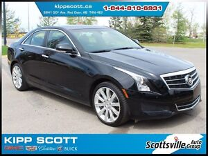 2014 Cadillac ATS Luxury AWD, Leather, Sunroof, Nav, Bose Audio