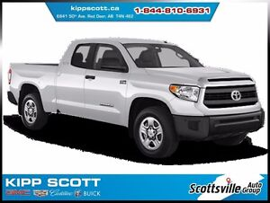 2014 Toyota Tundra SR5 Double Cab  4X4, Cloth, Cruise, A/C