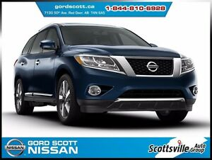 2014 Nissan Pathfinder Platinum Premium Pkg, 1 Owner, Loaded
