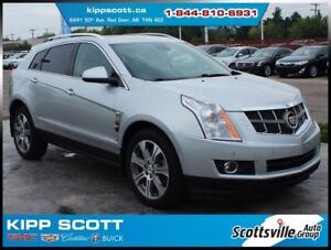 "2012 Cadillac SRX Premium AWD, Leather, Nav, Sunroof, 20"" Wheels"