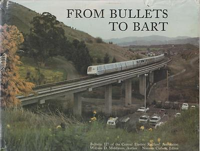 Streetcars Light Rail Photo Hx Central Electric Railfans 1938-88 Bullets To Bart