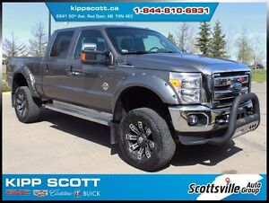 2012 Ford F-350 Lariat SRW, Leather, Lifted, Loaded, Ready to Go