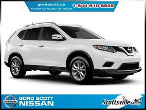 2016 Nissan Rogue SV AWD, Heated Cloth, A/C, Smart Key, 1 Owner