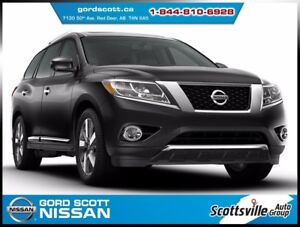 2016 Nissan Pathfinder SL 4WD, Leather, Sunroof, 7 Pass, Low KM