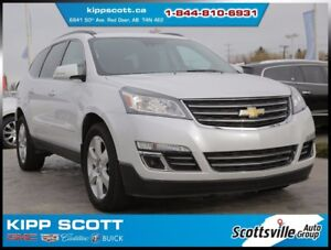 2016 Chevrolet Traverse LTZ AWD, Leather, Sunroof, Trailering