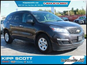 2016 Chevrolet Traverse LS AWD, Cloth, Cruise, 1 Owner, Clean