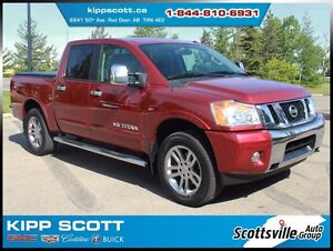 2014 Nissan Titan SL 4WD Crew Cab, Leather, Nav, Sunroof, Clean