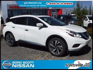 2016 Nissan Murano Platinum AWD, Heated Leather, Sunroof, Nav