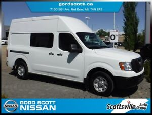 2014 Nissan NV2500 Cargo S V6 Highroof, Power Pkg, Cloth, Room