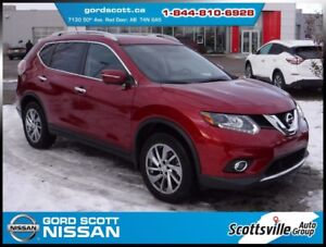 2014 Nissan Rogue SL AWD Premium, Leather, Sunroof, Nav, Bose
