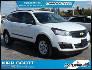 2016 Chevrolet Traverse LS AWD, Cloth, 8 Passenger, 1 Owner
