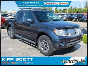 2015 Nissan Frontier PRO-4X, Heated Leather, Nav, Bluetooth, Cle