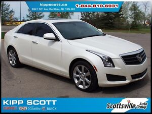 2014 Cadillac ATS 2.0T AWD Std. Collection, Heated Leather, CUE