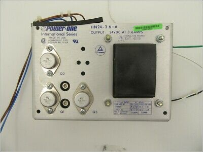 HN24-3.6-A / LINEAR POWER SUPPLY, 24VDC @ 3.6AMPS / POWER ONE