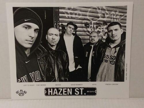 "HAZEN ST. - PROMO PICTURE - RARE - 8"" X 10"" + STICKERS - FREE SHIPPING"