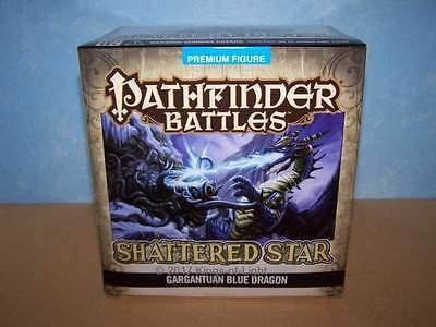 Gargantuan Blue Dragon - Shattered Star Pathfinder Battles D&D Miniature NIB