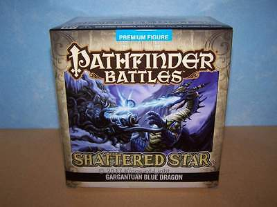 Купить WizKids - Gargantuan Blue Dragon - Shattered Star Pathfinder Battles D&D Miniature NIB