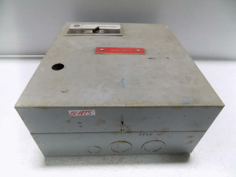 GENERAL ELECTRIC 300-LINE CONTROL TYPE 1 ENCLOSURE 55-201262P013