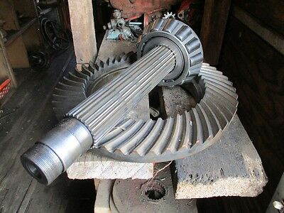 Case Tractor Ring Gear and Pin...