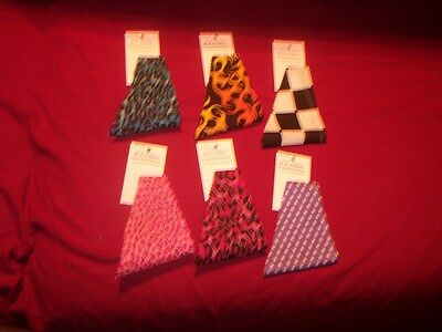 Wholesale Store Supply (NEW--DOG BANDANA---Groomer & Pet Store Supply--Wholesale Lot of 6 pcs--Lg Dog)