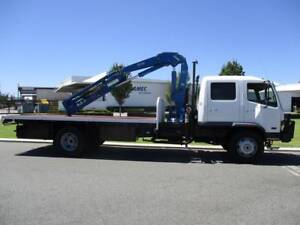 Mitsubishi 8 Tonne Dual-cab Crane Truck Welshpool Canning Area Preview