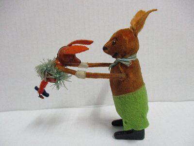 SCHUCO Tanzfigur Hase mit Kind