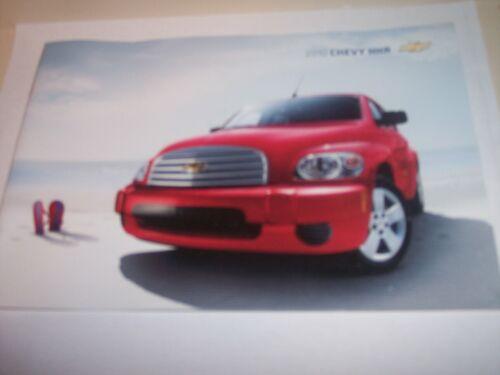 2010 Chevrolet HHR Catalog Sales Brochure SS 2LT   Original Brochure