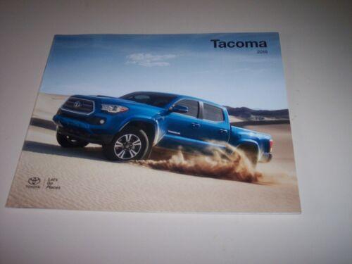 2016 Toyota Tacoma original sales brochure