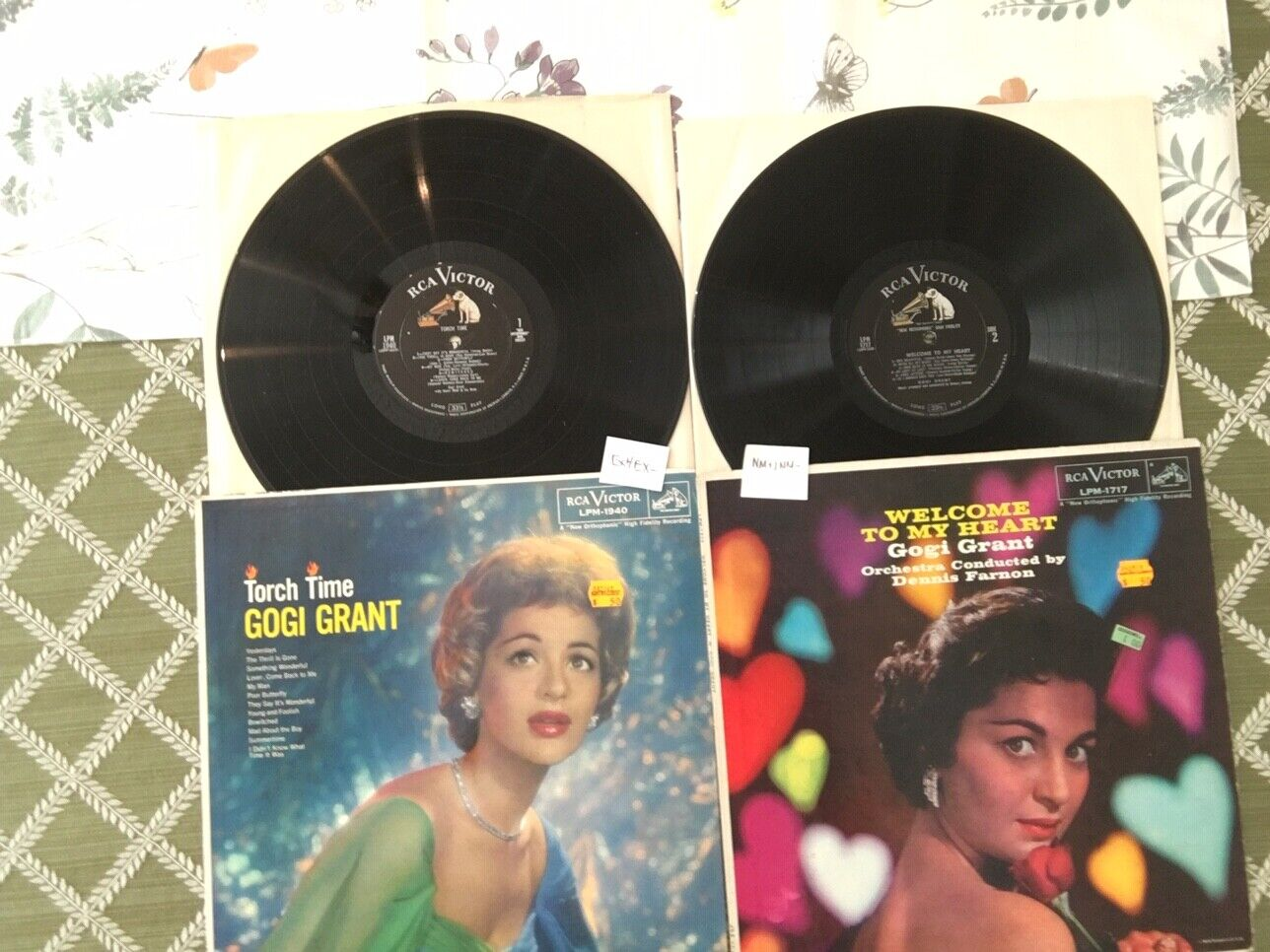 Gogi Grant Vinyl Record LP Torch Time Welcome To My Heart 60s Pop Jazz - $7.99