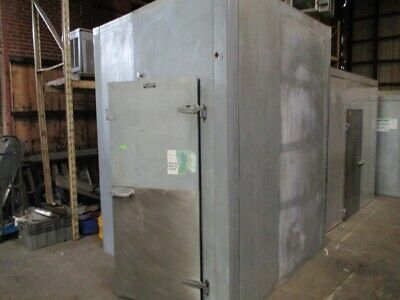 Used 7 5 X 7 5 X 10 Tall Walk In Cooler Box