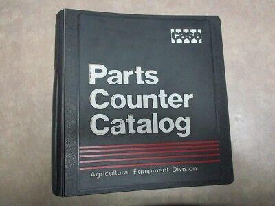 Case Construction Equipment Division Parts Counter Catalog 19861987