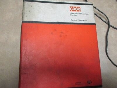 Case Compact Tractor Service Bulletins Binder 1970s 1980s