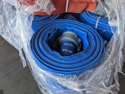 3 Trash Water Discharge Hose X 50 75 Psi With Cam Locks Made In Usa