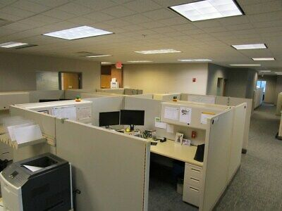 50 Herman Miller Office Cubicle Modular Systems 8x8s Super Nice